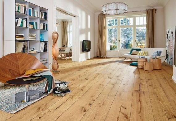 oak laminate floor boards