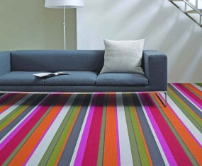 stripe carpet modern style multi stripe