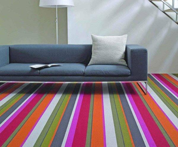 stripe carpet modern style multi stripe