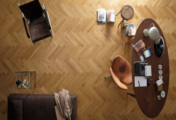 herringbone parquet wood flooring