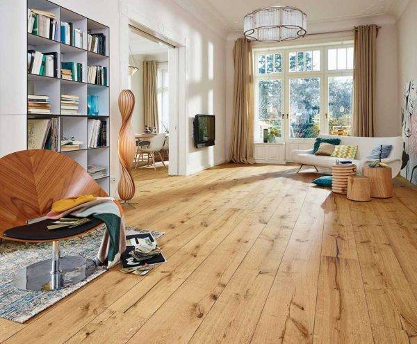 oak laminate floor boards living room
