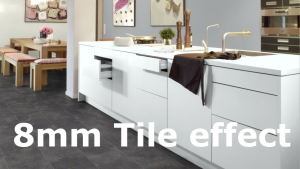 8mm tile effect laminate flooring in Birmingham