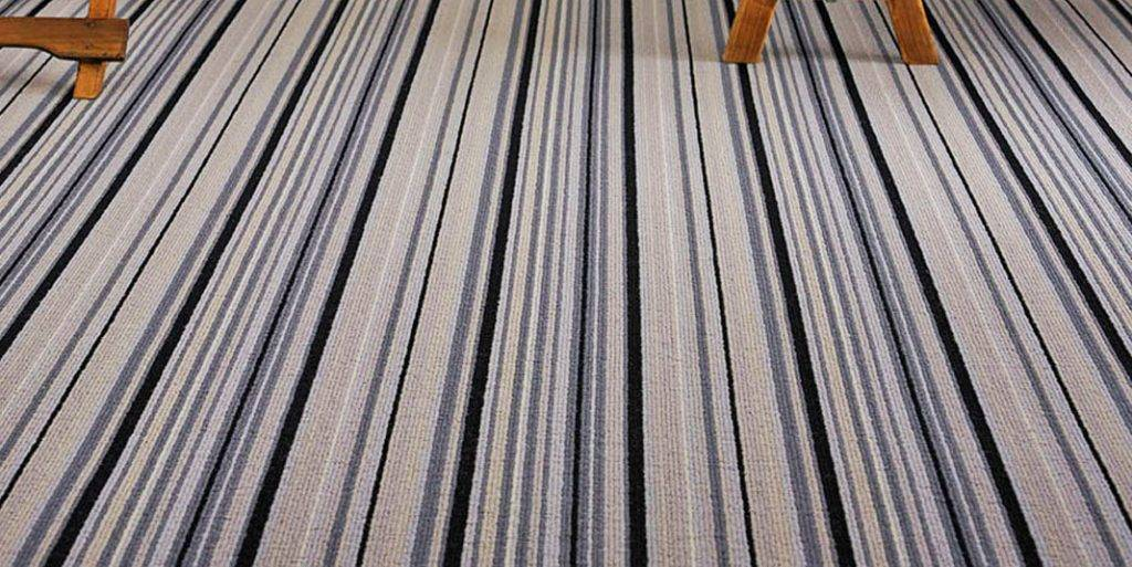 striped loop pile grey carpets