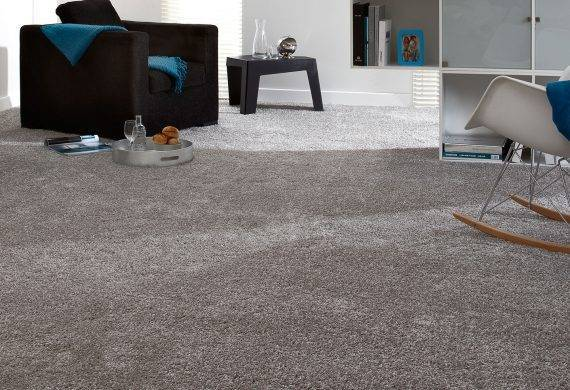 Saxony carpet grey