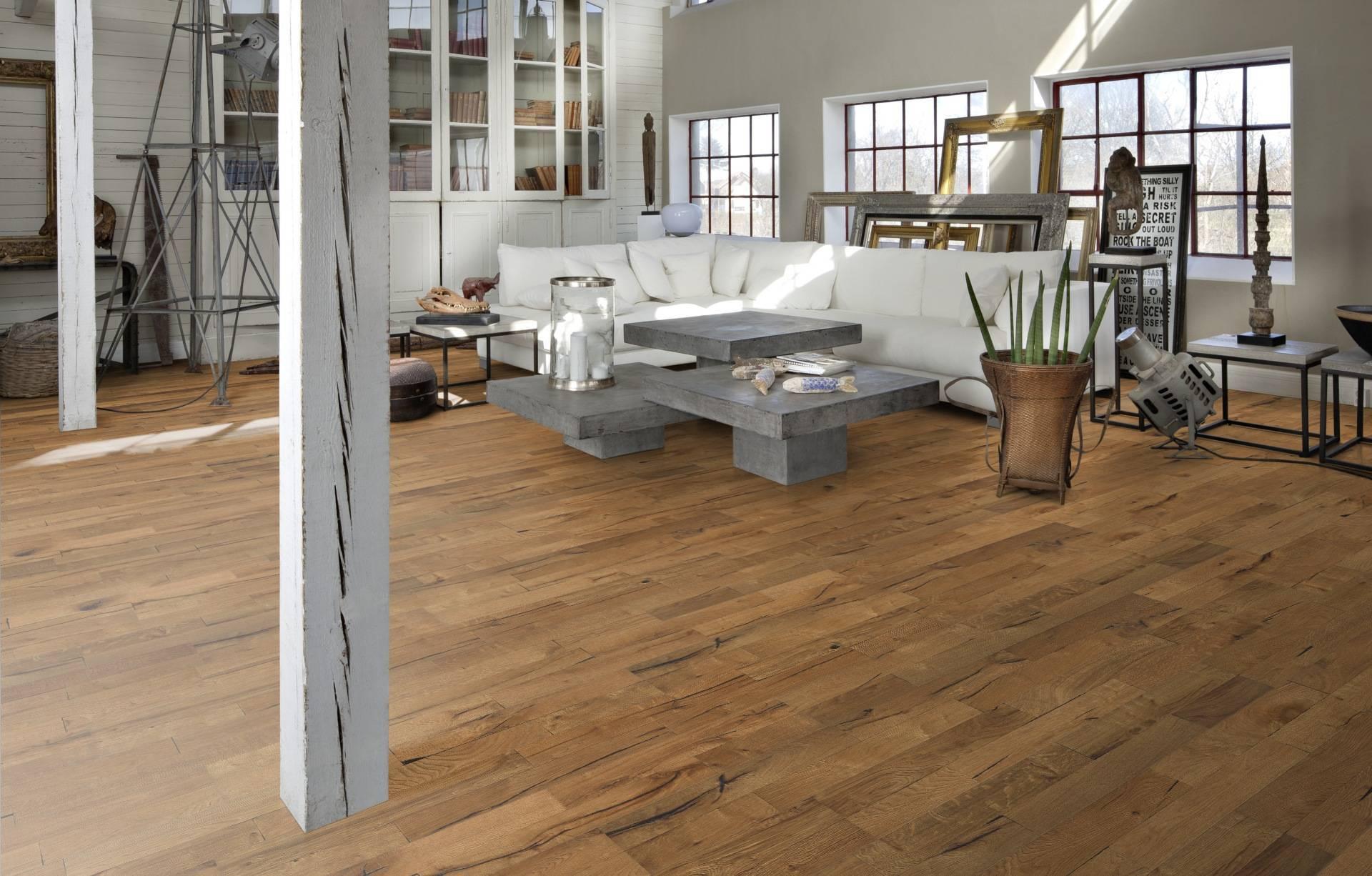 real wood oak engineered - wood flooring