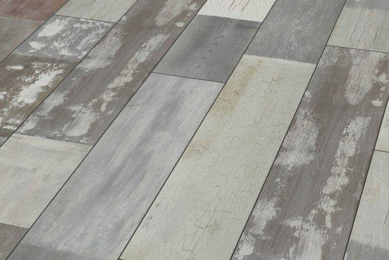 Cottage colour oak reclaimed effect laminate flooring