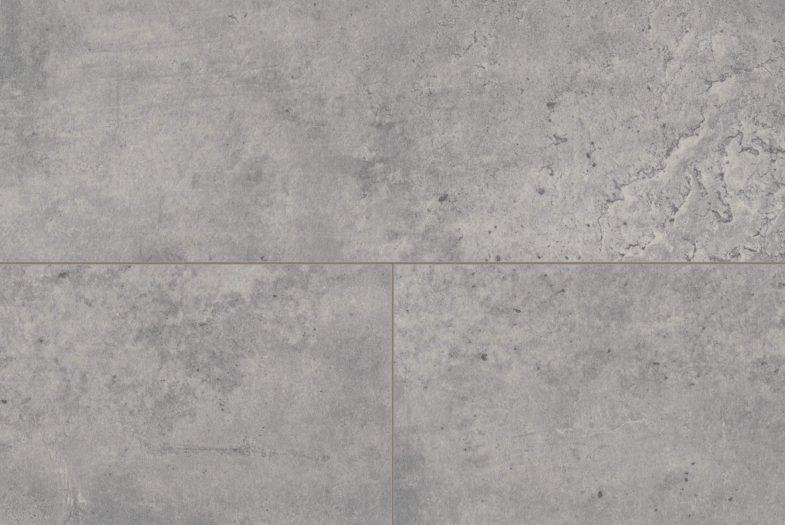 Egger Aqua waterproof grey fontia concrete laminate tiles