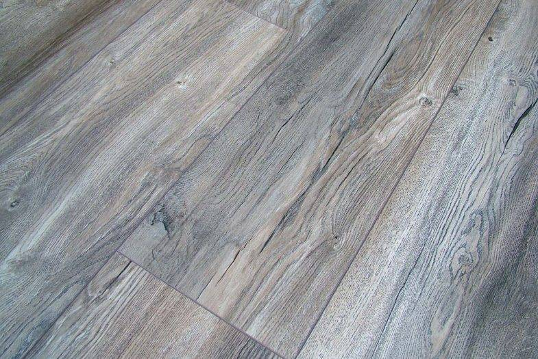 Kronotex Harbour Grey Oak laminate flooring