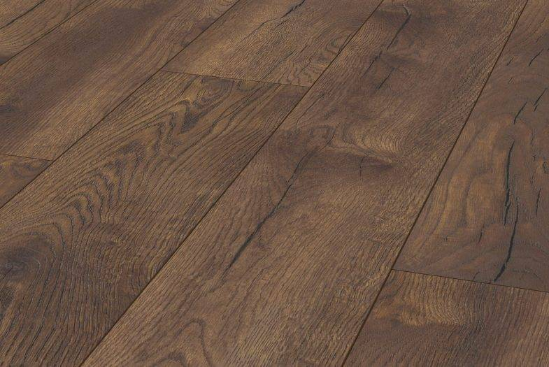 Kronotex Petterson Oak Dark laminate flooring