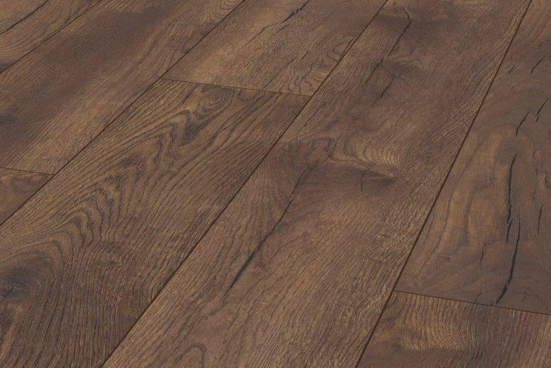 Kronotex Petterson Oak Dark laminate flooring