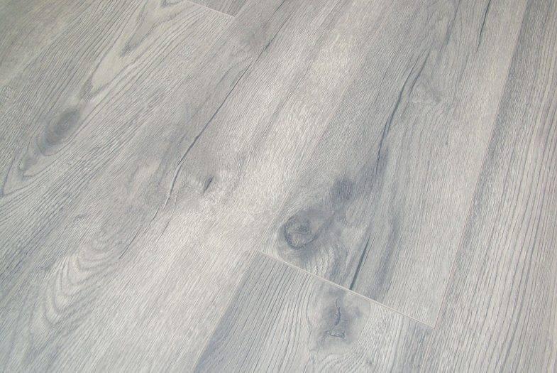 Kronotex Petterson Grey Oak laminate flooring