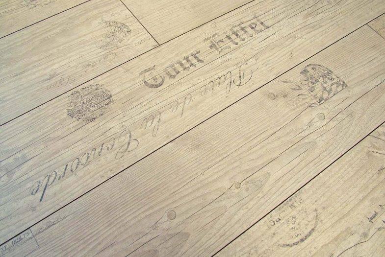 Kronotex Route de vins clair reclaimed effect laminate flooring