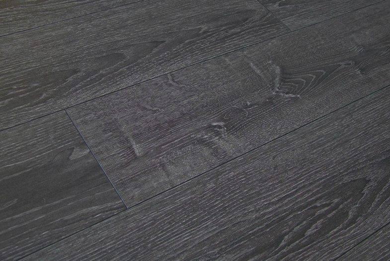 Kronoswiss Tokyo Oak laminate flooring dark grey
