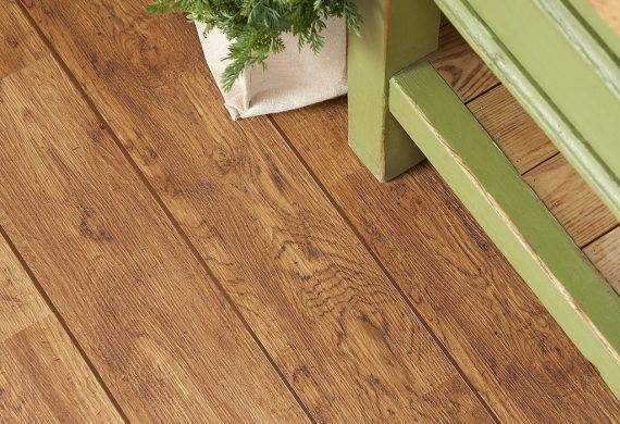 LVT vinyl flooring feature strips