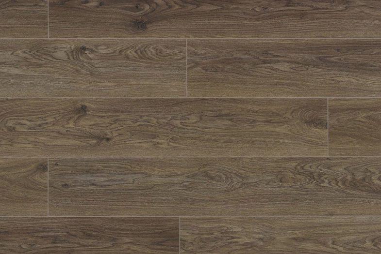 Berry Poppy Oak laminate flooring dark brown