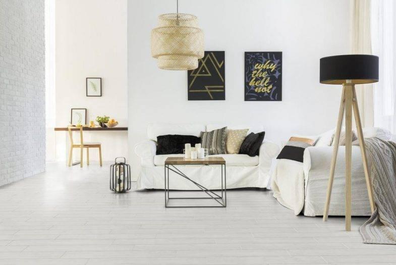 Luvanto Arctic Oak click vinyl flooring