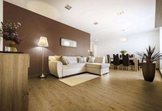Country Oak wood effect click LVT flooring