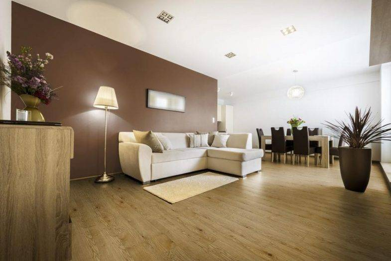 Country Oak wood effect click LVT flooring