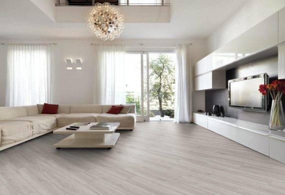 Luvanto Pearl Oak click LVT wood effect flooring
