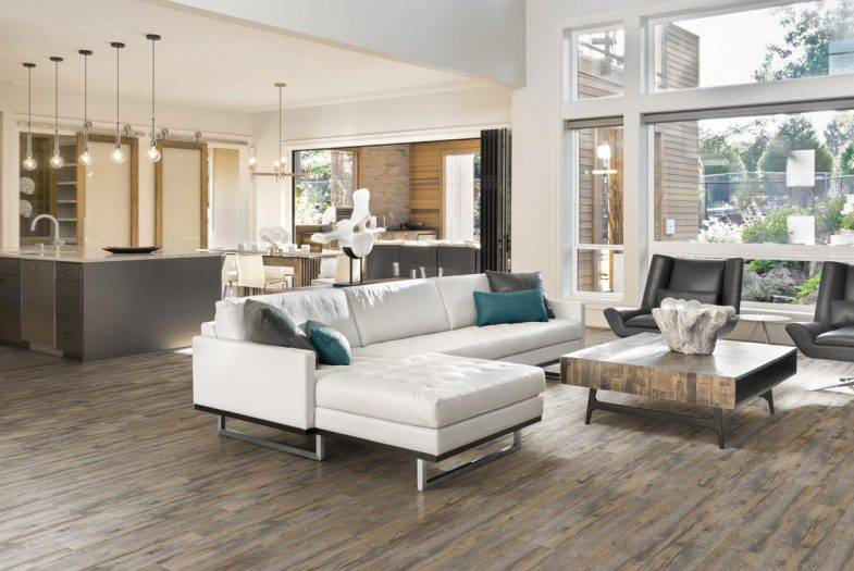 Luvanto Sun Bleached Spruce click vinyl LVT flooring