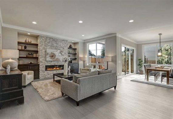 Luvanto White Oak click LVT vinyl flooring tiles