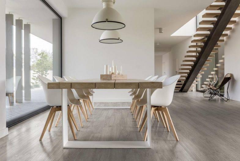 Luvanto Winter Oak LVT click vinyl flooring