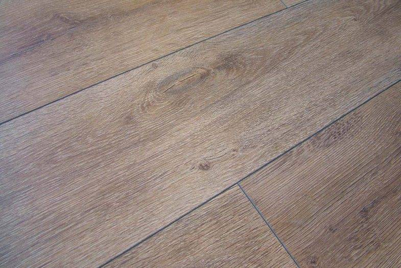 Kronotex 12mm laminate flooring in Premium Oak colour