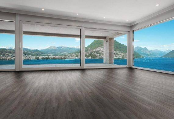 Luvanto Smoked Charcoal LVT click vinyl flooring