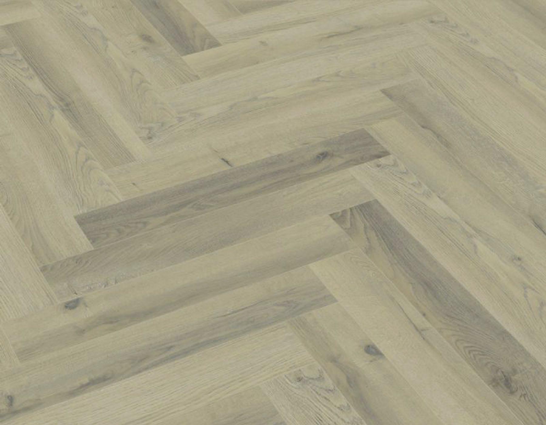 12mm herringbone greige oak laminate flooring